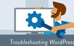 Troubleshooting WordPress